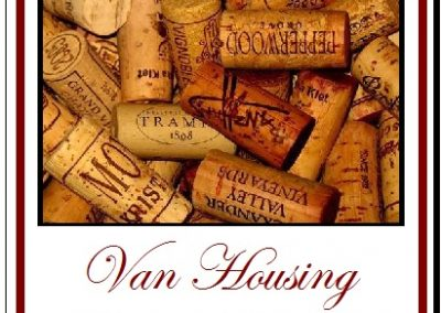Corks Label example